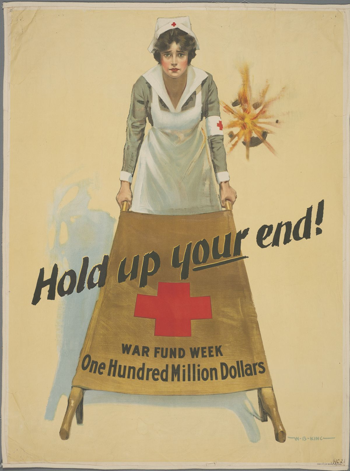Harry Ransom Center World War I Poster Collection See It