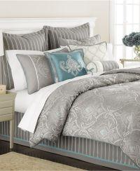 Martha Stewart Collection Bedding, Briercrest 9 Piece ...