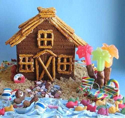 Gingerbread Beach House Google Search Gingerbread House