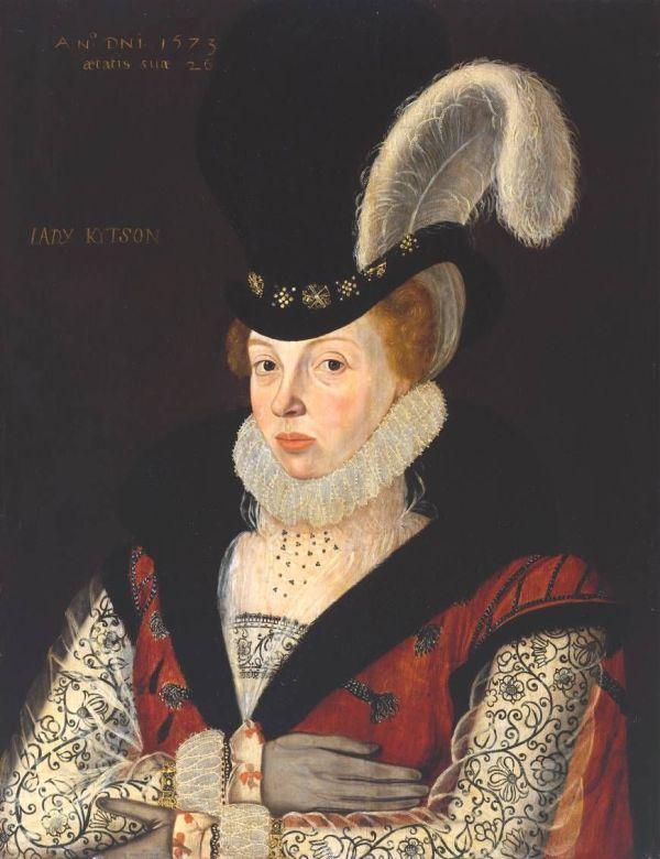 Lady Kytson George Gower 1573 England Tate Britain Elizabeth Cornwallis