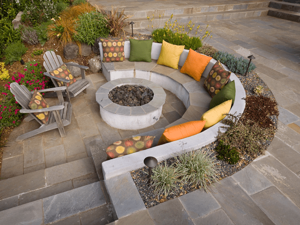 Backyard Patios And Firepits