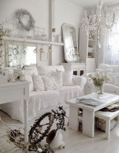 Nice stunning white vintage christmas decoration ideas more at http homy also rh pinterest