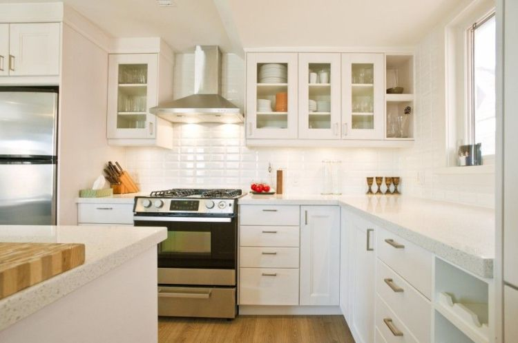 White Kitchens Kitchen Modern Small