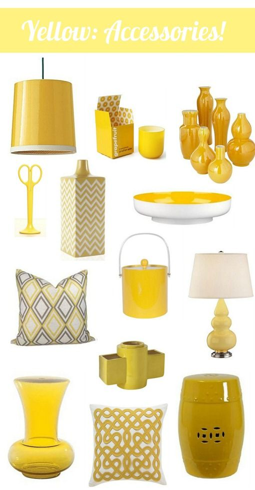 Yellow Accessories On Pinterest  Purple Clothing, Sigma