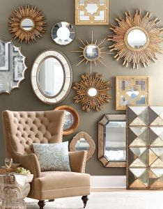 Loads of tips for how to decorate on  budget mirrors are great way brighten and expand the appearance any room just remember be mindful also best images about things my wall pinterest mirror walls rh