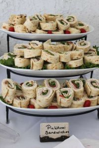 Baby Shower Party Ideas | Pinwheel sandwiches, Babies and ...