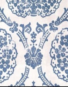 Blue and white damask wallpaper pattern number book name scandinavian vintage manufacturer sancar wallcovering inc also