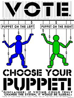 Image result for puppet politics