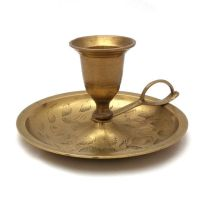 Brass Candle Holder With Handle - Brass Candle Stick ...