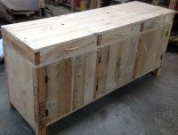 Side board / Buffet made from pallets by industrial design ...