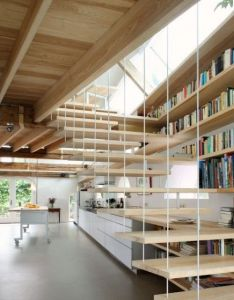 Floating stairs also my dream house assembly required photos rh pinterest