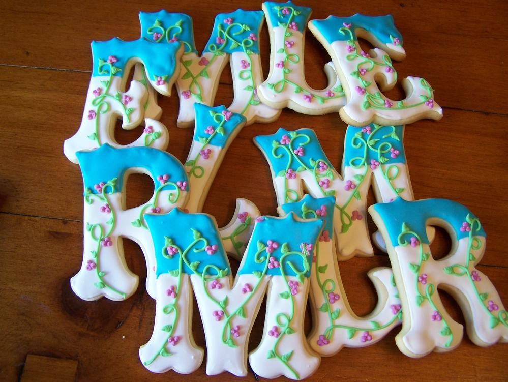 Cute Cake Decorating Cookie Ideas