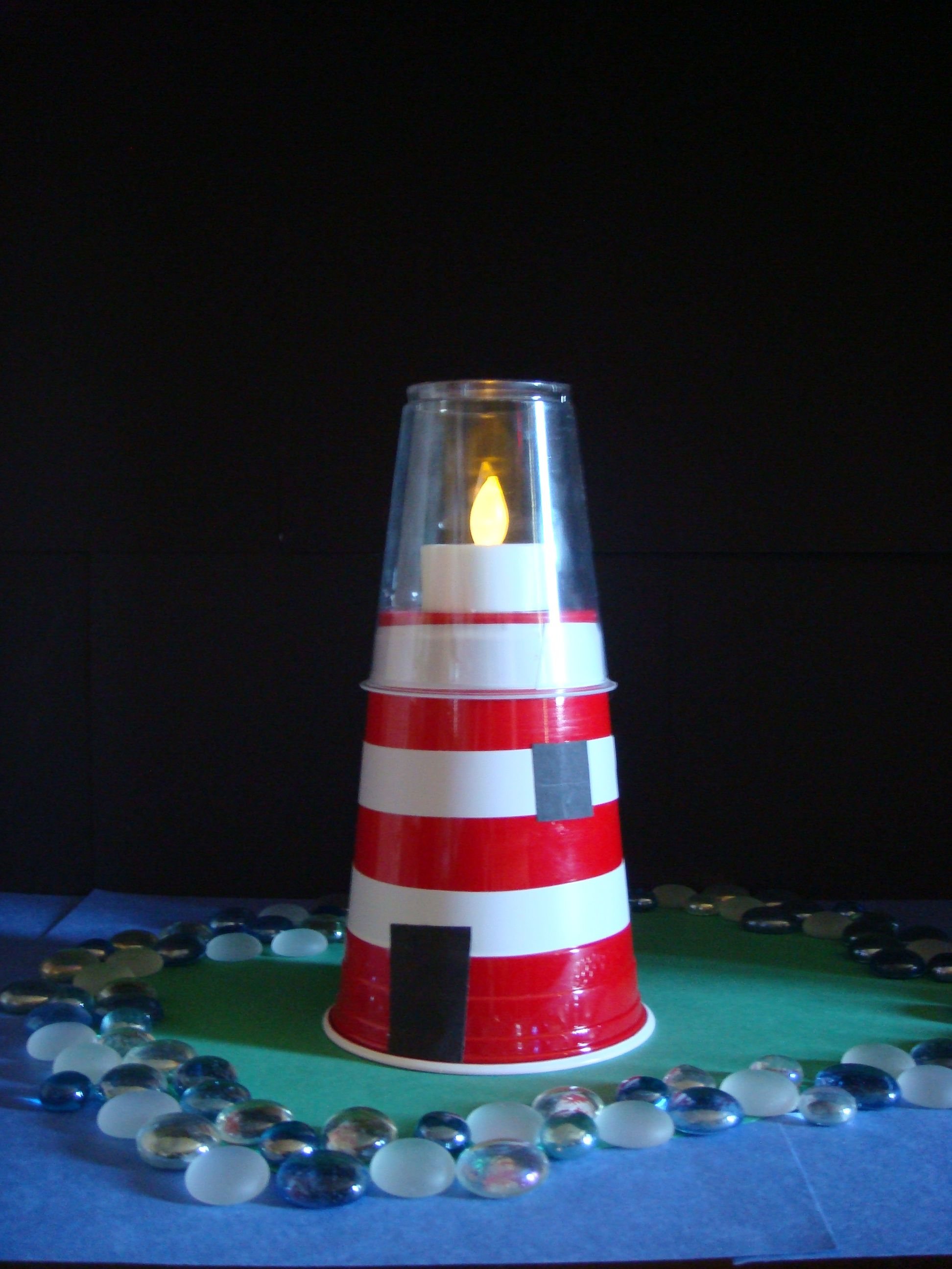 Lighthouse Craft Let Your Light So Shine Relief Society Give Away Craft