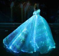 """"""" Wedding Gown Glow in the Dark Dress! """"#GlowintheDark # ..."""