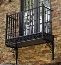 Wrought iron Balconies. www.deciron.com this is their ...
