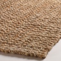 Natural Basket Weave Jute Rug | Jute, Room and Living rooms
