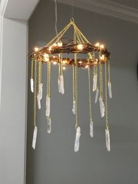 Crystal Mobile- Crystal Point Bohemian Mobile- Quartz ...