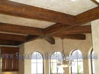 wooden ceiling beams | Mediterranean Faux Ceiling Beams ...