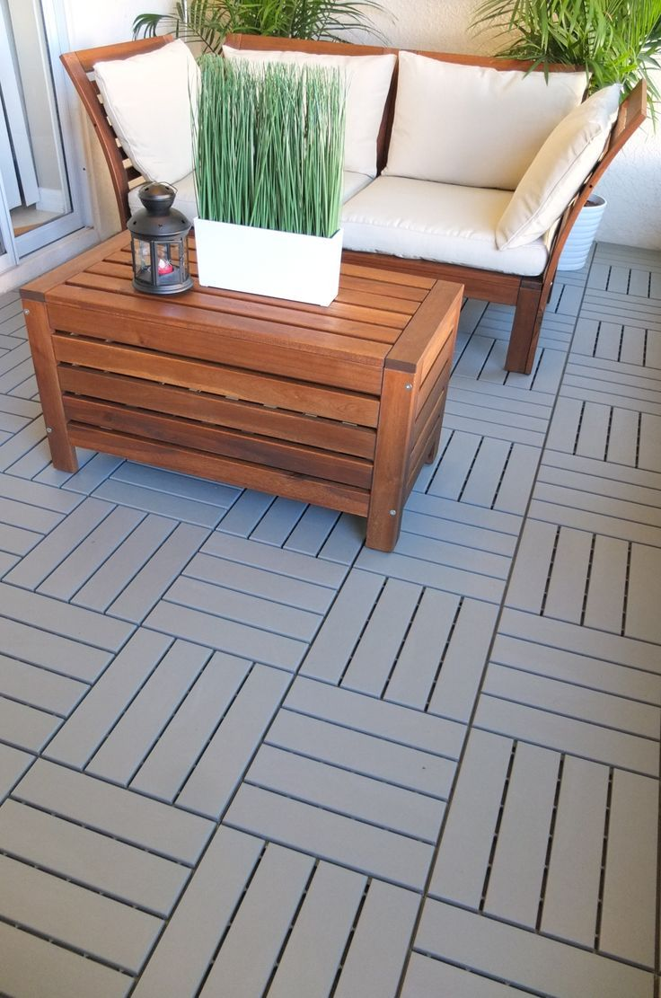 Ikea Runnen Floor Decking Outdoor Floor Decking Makes It Easy To Refresh Your Terrace Or Balcony The Floor Decking Is Weather Resistant And Easy To