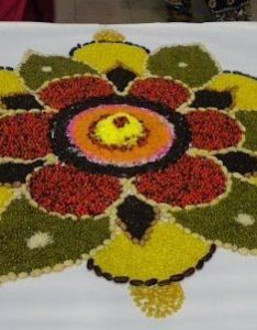 Rangoli with lentils also mandalas and designs pinterest rh