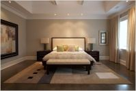 Tray Ceiling Bedroom Design Ideas Bedroom Contemporary ...