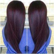 chocolate cherry hair tips &