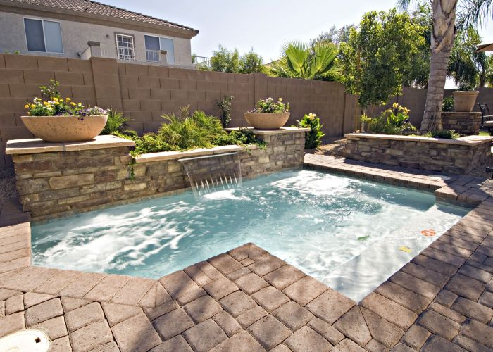 Small pools for backyards pool california blog also