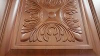 Original wood main door wood carving design