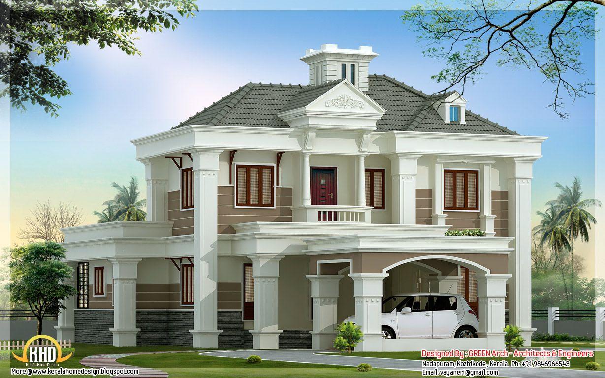 House Windows Design Home Design 2500 Sq Ft Kerala Home Design