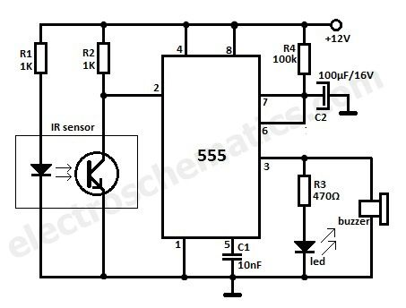 Outdoor Motion Detector Light Diagram 12 Volt Motion