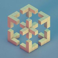 30 Brilliant Examples of Geometric Designs | Cube, 3d and Face