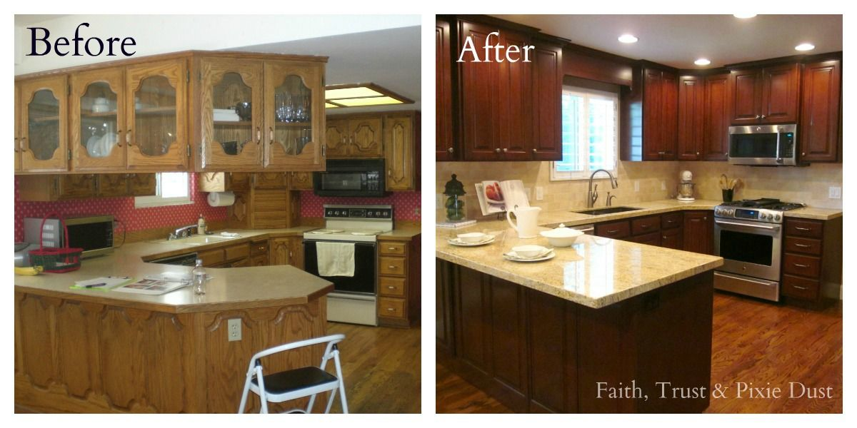A Spectacular Kitchen Remodel Kitchens Remodeling Ideas And