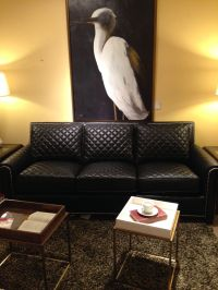 Quilted Leather Sofa by Century Furniture | Living Room ...