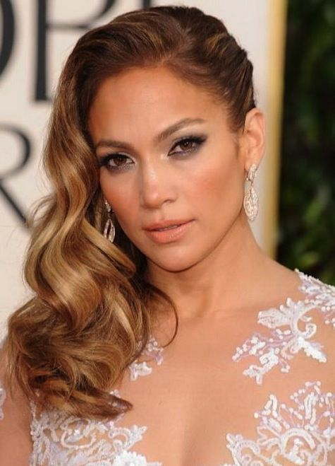 Jennifer Lopez All One Sided Hairstyles For Prom Hair