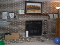 Brick Fireplace Makeover Ideas | Fireplace | Pinterest ...
