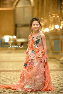 Girls Kids Pakistani Wedding Dresses
