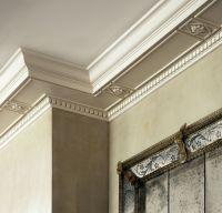 Living Room Cornice Detail - Fifth Avenue Residence - John ...