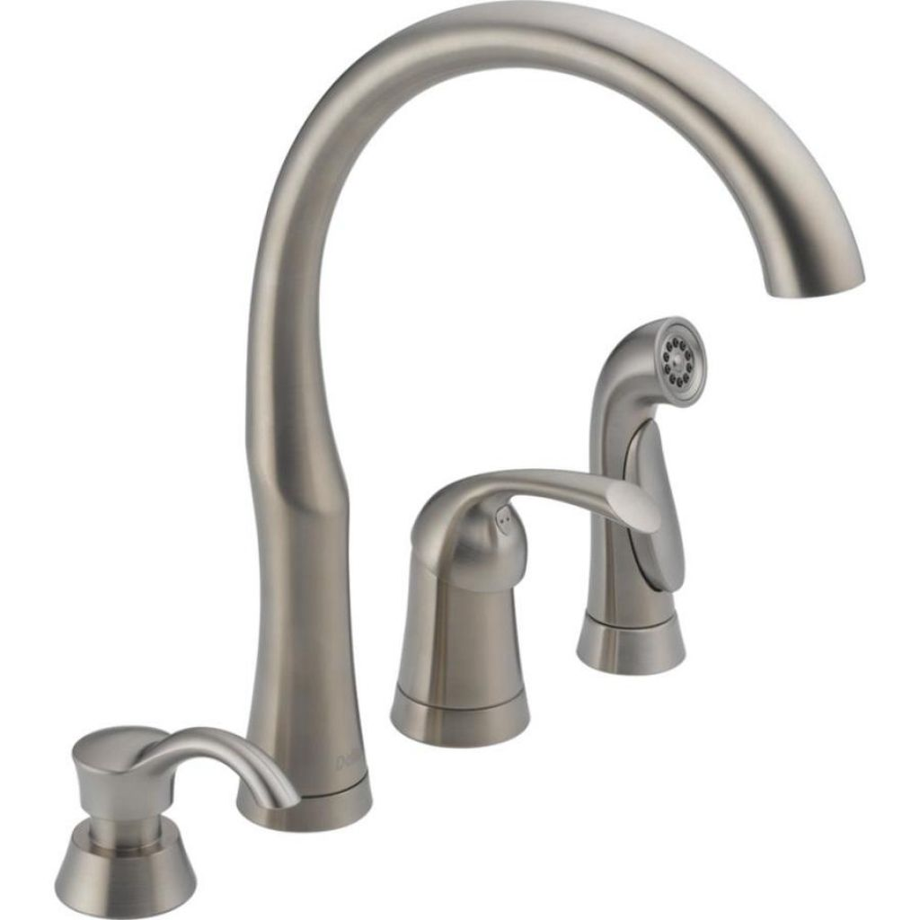 4 Hole Kitchen Faucets Lowes  Wow Blog