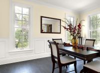 Dining Room in Elegant Ivory Cream | paint colors ...