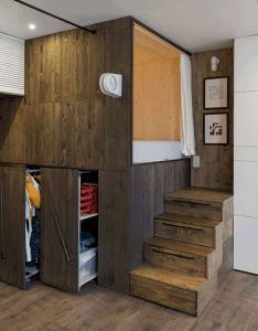 Room also minimalist loft stairs for tiny house decor ideas rh pinterest