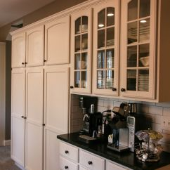 Coffee Bar In Kitchen Turquoise Appliances And Pantry Storage Design Pinterest