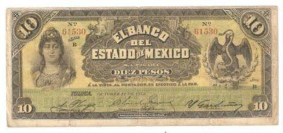 Billete de 10 pesos Billetes Mexicanos | Tickets ...