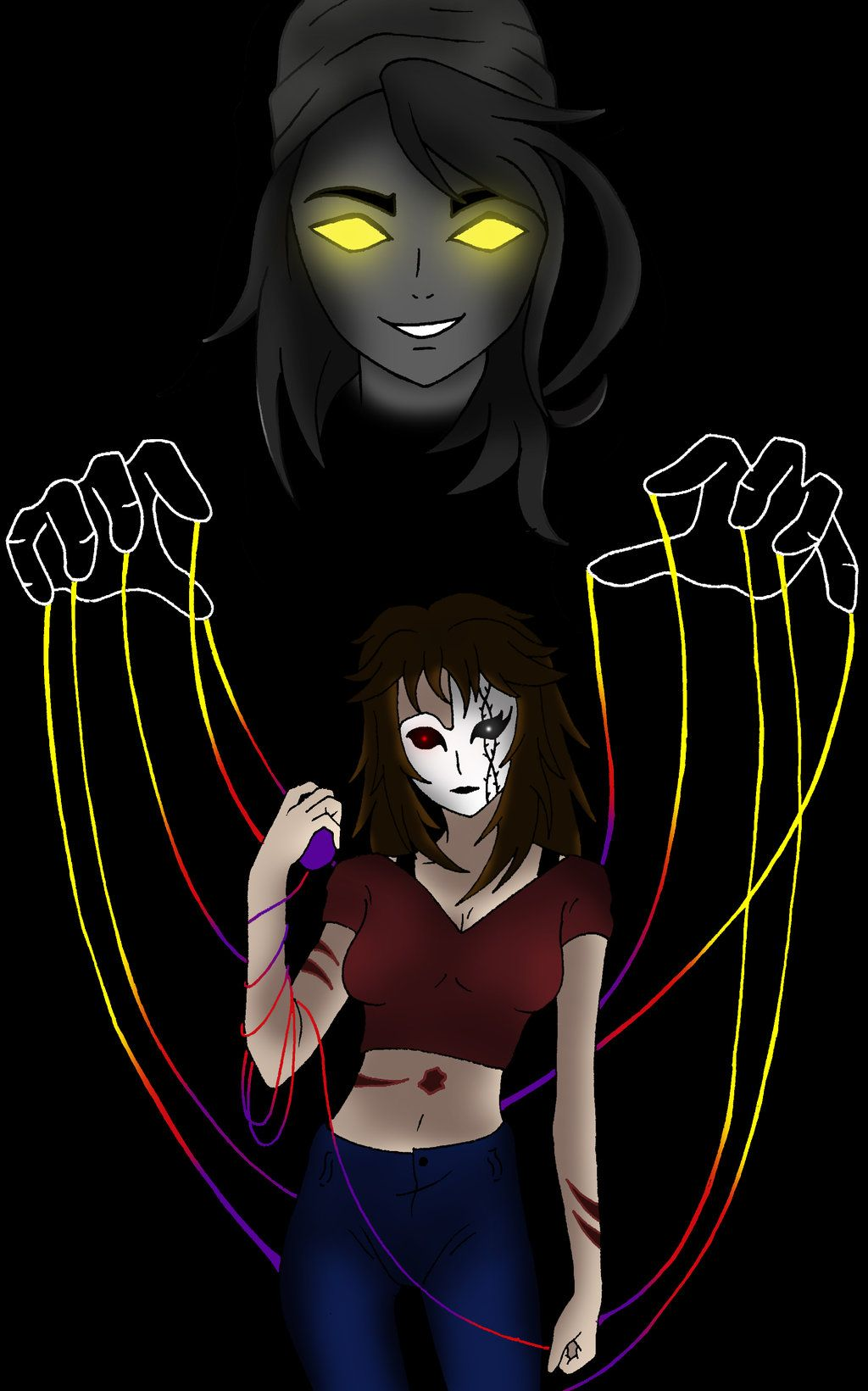 Creepypasta: Dark Nemesis by darkangel6021 on DeviantArt | Nemesis | Pinterest | Creepypasta