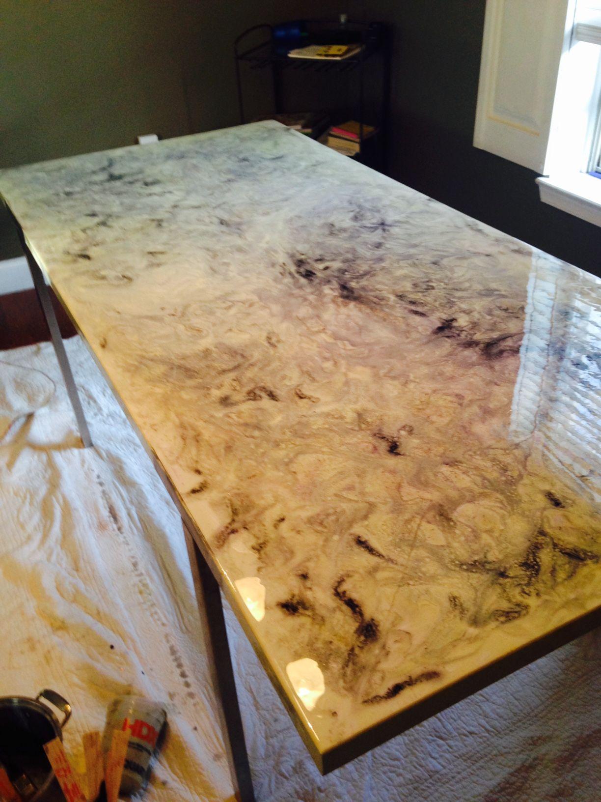 epoxy resin kitchen countertops tuscan design photos white and black countertop table
