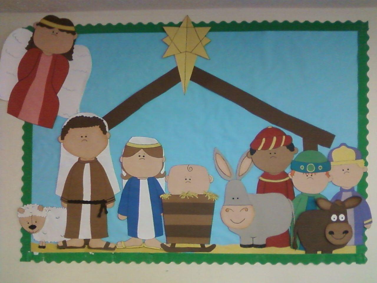 Religious Bulletin Board Ideas For Christmas