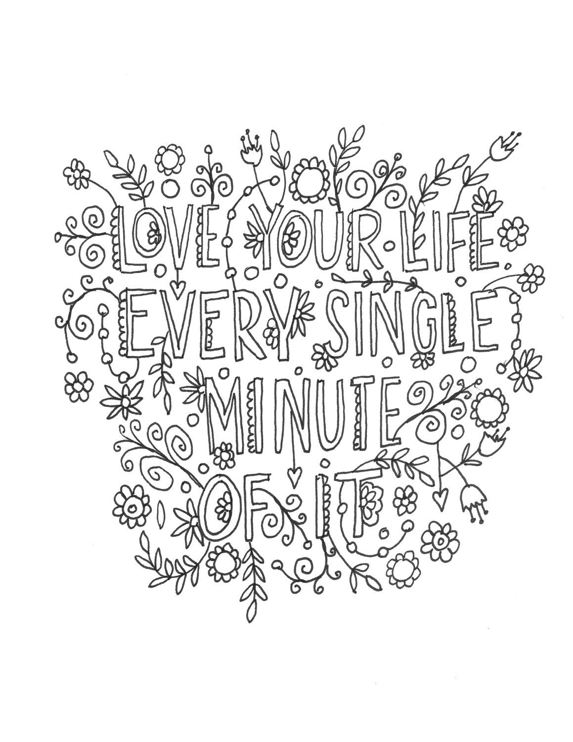 Doctor Who Quote Adult Coloring Page A Personal Favorite From My Etsy Shop  Https Etsy d86107a871be2
