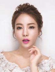 loistaa korean bridal hair