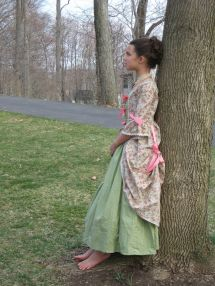 Matching Girl And Doll Williamsburg Ball Gown Set