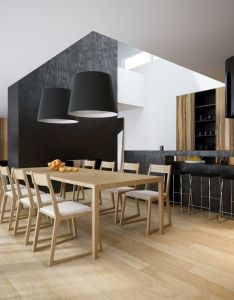 Dining room pleasing black decor ideas with modern stone craft also rh pinterest