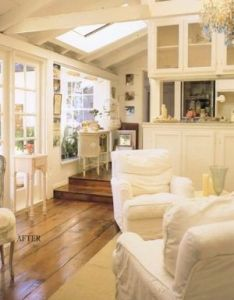 Find this pin and more on ideas for remodeling by jocslr also rachel ashwell love the wood floors  step down into living rh pinterest